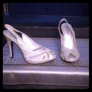 Beautiful. Silver dress shoe